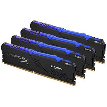 Kingston HX430C16FB3AK4/128 128 GB (4x32) DDR4 3000Mhz CL16 HyperX Fury Bilgisayar Bellek