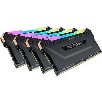 Corsair CMW64GX4M4D3600C18 64 GB (4x16) DDR4 3600MHz CL18 Vengeance Pro RGB Bilgisayar Bellek