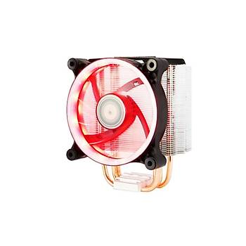 Xigmatek EN9375 Intel/Amd 12 cm Kýrmýzý Cpu Soðutucusu