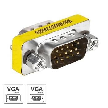 Dark DK-HD-AVGAX11 VGA to VGA Erkek-Erkek Dönüþtürücü Adaptör