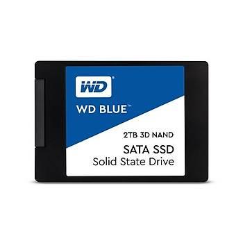 Western Digital WDS200T2B0A 2 TB 560/530Mb/s 2.5 inch SATA Blue 3D SSD Harddisk