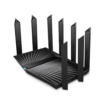 Tp-Link ARCHER AX90 Tri Band 6700 Mbps 2.4/5Ghz 3 Port Gigabit 8 Antenli Router Access Point