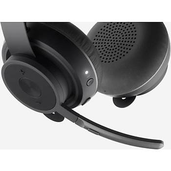 Logitech 981-000914 Zone Wireless Stereo Kafa Bantlý MS Teams Kablolu Mikrofonlu Kulaklýk