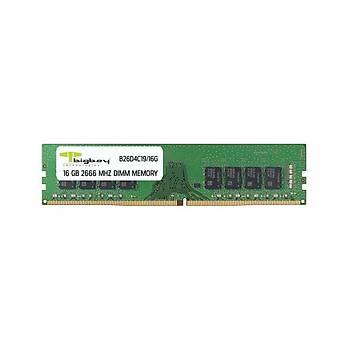 Bigboy B26D4C19/16G 16 GB DDR4 2666Mhz CL19 Bilgisayar Bellek
