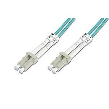 Digitus DK-2533-15/3 15 Mt LC-LC 50/125 OM3 Multimode Duplex Patch Kablo