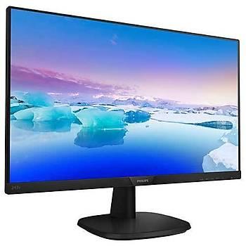 Philips 243V7QDSB/01 23.8 inch Ips 1920X1080 5ms VGA DVI HDMI Monit鰎