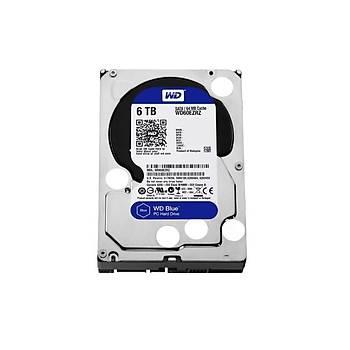 Western Digital WD60PURZ 6 TB 5400Rpm 64MB SATA Purple 7/24 Güvenlik Harddisk