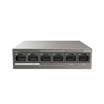 Tenda TEF1106P-4-63W 6 Port 10/100Mbps 4 Port PoE 63W Desktop PoE Switch