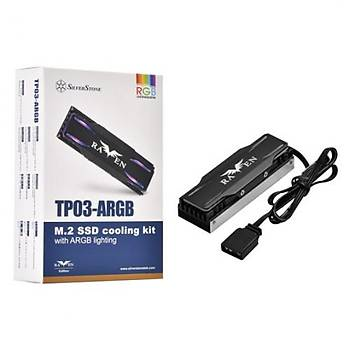 Silverstone SST-TP03-ARGB TP03-ARGB 22x80 M.2 SSD Soðutucusu