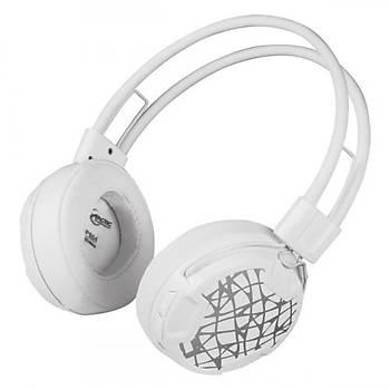 Arctic AR-ASHPH00017A P604 Kafabantlý Wireless Beyaz Mikrofonlu Kablosuz Kulaklýk