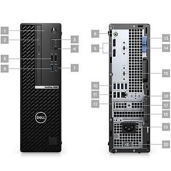Dell N007O5080SFF OptiPlex 5080 SFF CI5 10500 3.1Ghz 8GB 128GB SSD Ubuntu Masaüstü Bilgisayar