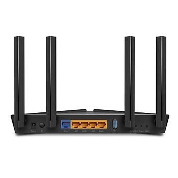 Tp-Link ARCHER AX50 3976 Mhz 2.4/5Ghz 4 Port Gigabit 4 Antenli Router Access Point