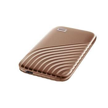 Western Digital WDBAGF5000AGD-WESN 500 GB My Passport 2.5 inch USB Type C Altýn SSD Harici Harddisk