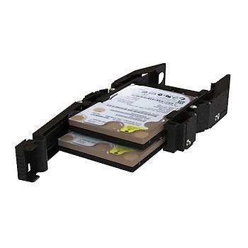 Icy Dock MB990SP-B Ez Dock 2.5 inch x 2 Yuva 3.5 inch Çevirici Disk Kýzaðý