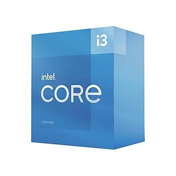 Intel BX8070110105 CI3 10105 3.7Ghz Sc-1200 6MB 4 Çekirdek UHD630 65W Intel Ýþlemci