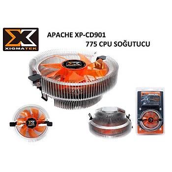 Xigmatek EP-CD901 Apache Intel/Amd 9Cm Fan Ýþlemci Soðutucusu
