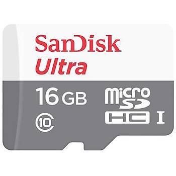 Sandisk SDSQUNS-016G-GN3MN 16 GB 80Mb/S microSD Hafýza Kartý