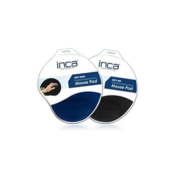 Inca IMPS-008 Siliconlu Kaymaz Taban Siyah Mouse Pad