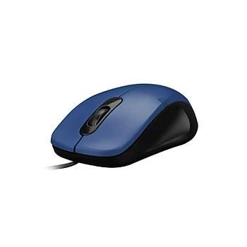 Everest SM-258 USB 1200Dpi 3 Tuþlu Kablolu Optik Mavi Mouse