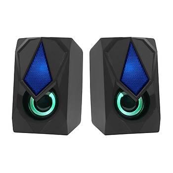 Frisby FS-2136U 1+1 6W USB RGB Ledli Siyah Hoparlör