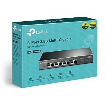 Tp-Link TL-SG108-M2 8 Port 2.5 Gigabit Masaüstü Ethernet Switch