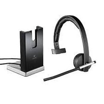 Logitech 981-000512 H820E Mono Kafa Bantlý Kablosuz Mikrofonlu Kulaklýk