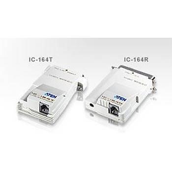 Aten IC164 400 Mt LPT to RJ11 Paralel Sinyal Uzatma Cihazý Güç Adaptörü Gerektirmez