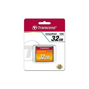 Transcend TS32GCF133 32 GB CF133 133X  50/20Mb/s CompactFlash Hafýza Kartý