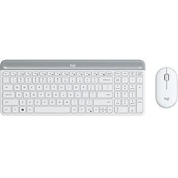 Logitech 920-009436 MK470 Q TR 1000Dpi 3 Tuþlu Kablosuz Beyaz Klavye Mouse Set