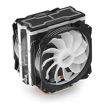 Dark DKCCX129 Freezer X129 2x12cm ARGB Ledli INTEL/AMD Kule Tipi Ýþlemci Soðutucusu