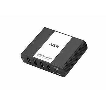 Aten UEH4102 USB 2.0 to 4 Port USB 2.0 to CAT 100 Mt USB 2.0 Extender Over LAN USB Çoklayýcý