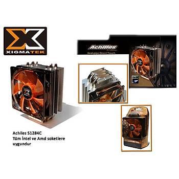 Xigmatek S1284 Achýlles Intel 12 cm Fan Ýþlemci Soðutucusu