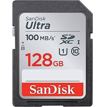 Sandisk SDSDUNR-128G-GN3IN 128 GB 100Mb/s HC-I Ultra C10 SD Hafýza Kartý