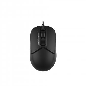 A4 Tech FM12 USB 1200 Dpi 3 Tuþlu Kablolu Siyah Mouse