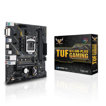 Asus TUF H310M-PLUS GAMING R2.0 Sc-1151 H310 DDR4 2666Mhz M2 AURA RGB mATX Intel Anakart
