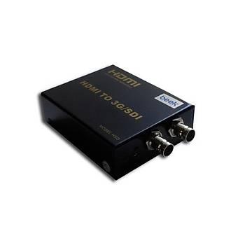Beek BS-CV-HD-3GSDI HDMI to 3G/SDI 1 HDMI 2 BNC 1080p Sinyal Çevirici Adaptör