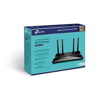 Tp-Link ARCHER AX20 1800 Mbps 2.4/5Ghz 4 Port Gigabit 4 Antenli Router Access Point