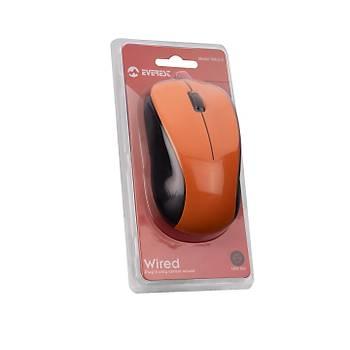 Everest SM-215 USB 1200Dpi 3 Tuþlu Kablolu Optik Turuncu Mouse