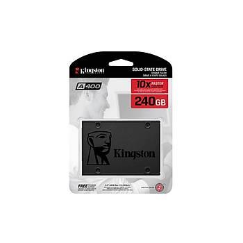 Kingston SA400S37/240G 240 GB A400 500/450Mb/s 2.5 inch SATA3 SSD Harddisk