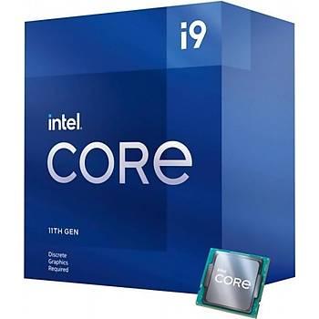 Intel BX8070811900F CI9 11900F 2.5Ghz Sc-1200 16MB 8 Çekirdekli VGAsýz 125W Intel Ýþlemci