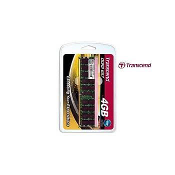 Transcend TS512MQR72V6T 4 GB DDR2 667MHZ 2Rx4 CL5 ECC Sunucu Bellek