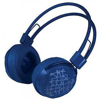 Arctic AR-ASHPH00016A P604 Kafabantlý Wireless Mavi Mikrofonlu Kablosuz Kulaklýk