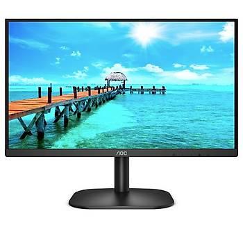 Aoc 22B2AM 21.5 inch 1920x1080 4ms 75Hz Multimedia VGA HDMI Monitör