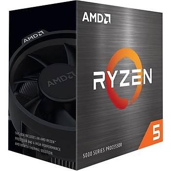 Amd 100-100000065BOX Ryzen 5 5600X 3.7GHZ Sc-AM4 32MB 6 Çekirdek VGAsýz 65W Amd Ýþlemci
