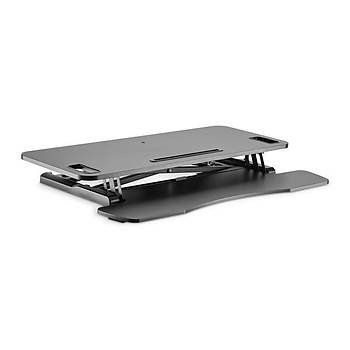 Digitus DA-90380-1 15 Kg 95x61x11-46cm Klavye Notebook Standý