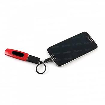 Dark DK-CB-USB2MICROTG2 USB 2.0 to micro USB Erkek-Diþi Dönüþtürücü OTG Kablosu