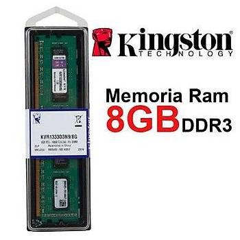Kingston KVR1333D3N9/8G 8 GB DDR3 1333MHZ CL9 Bilgisayar Bellek