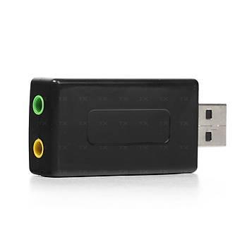 Tx TXACUSC72 7.1 Stereo Ses Efektli USB 2.0 Windows MAC Uyumlu Ses Kartý