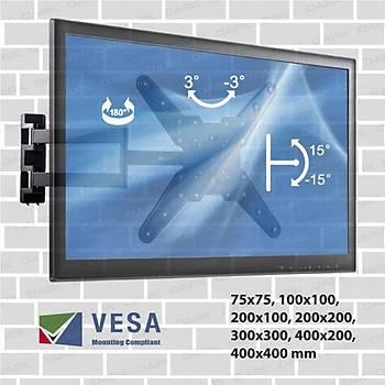 Dark DK-AC-VT30 VT30 23 - 55 inch Hareketli Katlanabilir Duvar Tipi TV Aský Aparatý