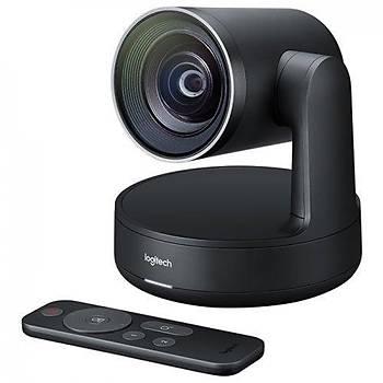 Logitech 960-001227 V-U0032 Rally 4K 15x HD Zoom USB 3.0 Mikrofonlu Webcam